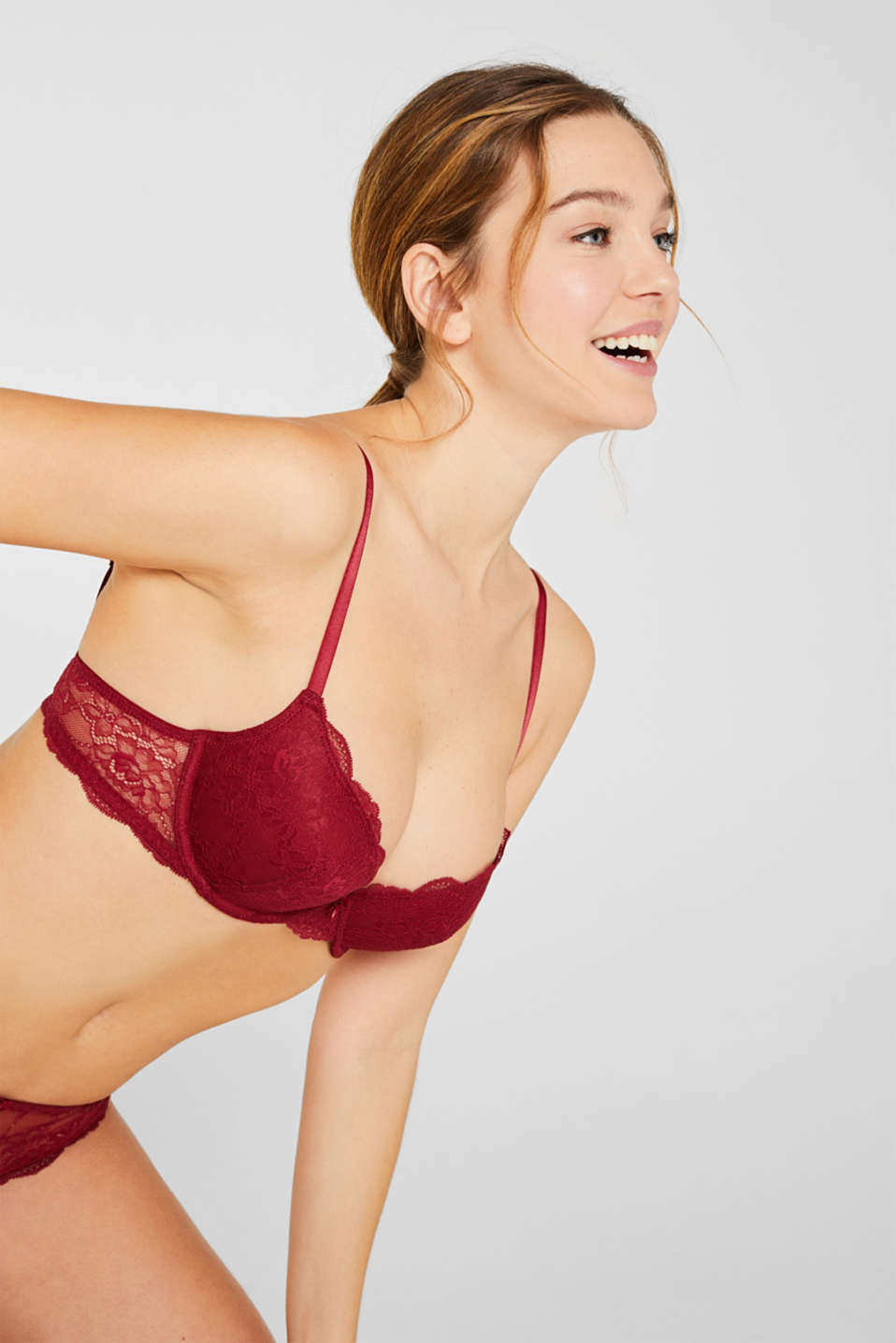 Esprit - Sujetador push up de encaje