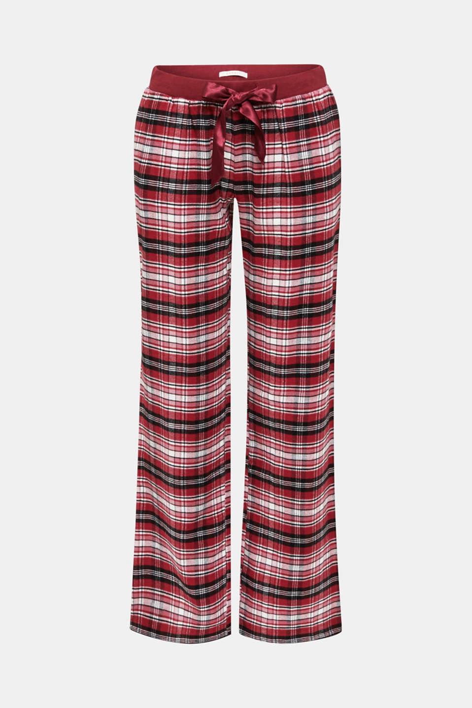 Nightpants, DARK RED, detail image number 5