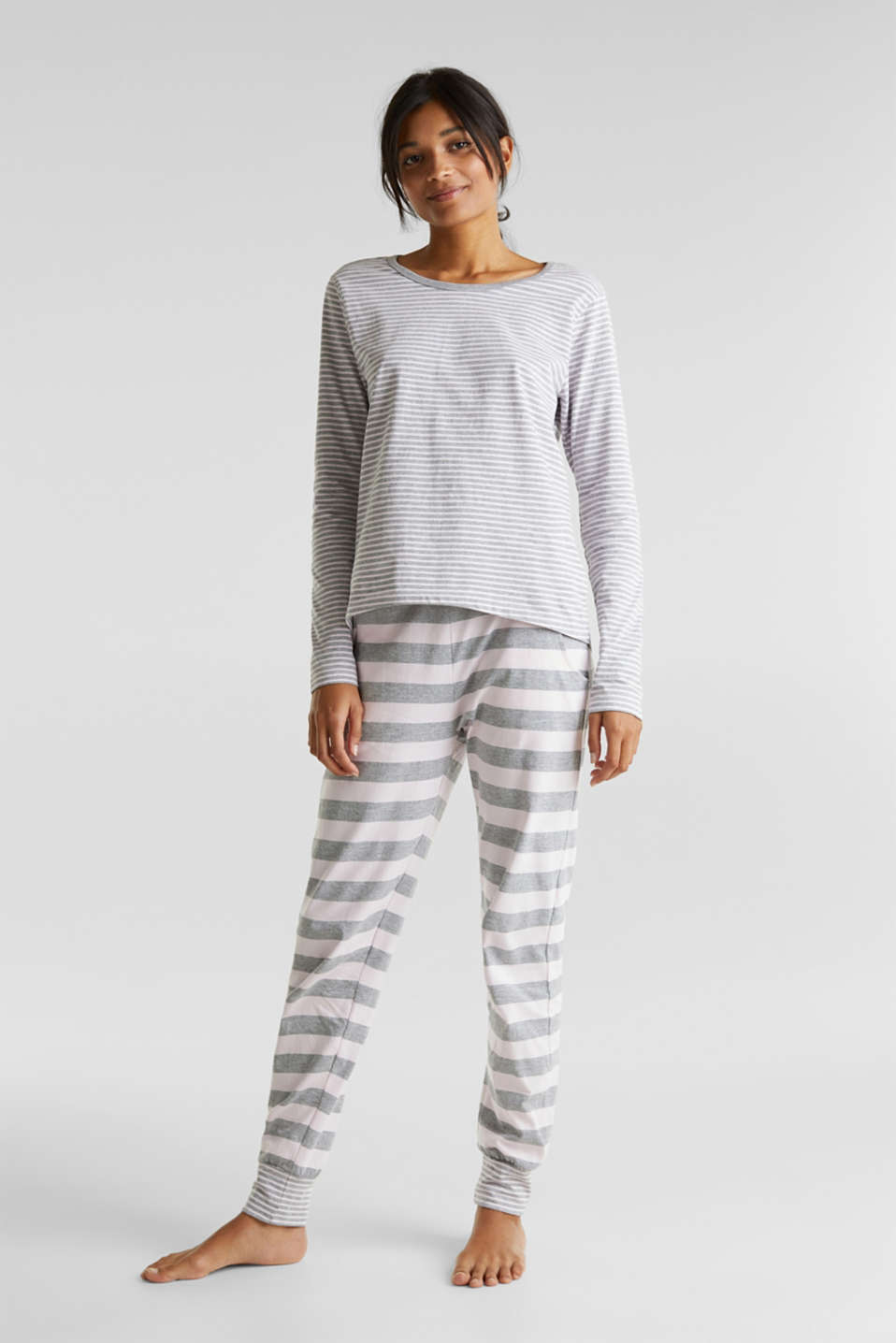 Esprit - Pyjamas in a striped look