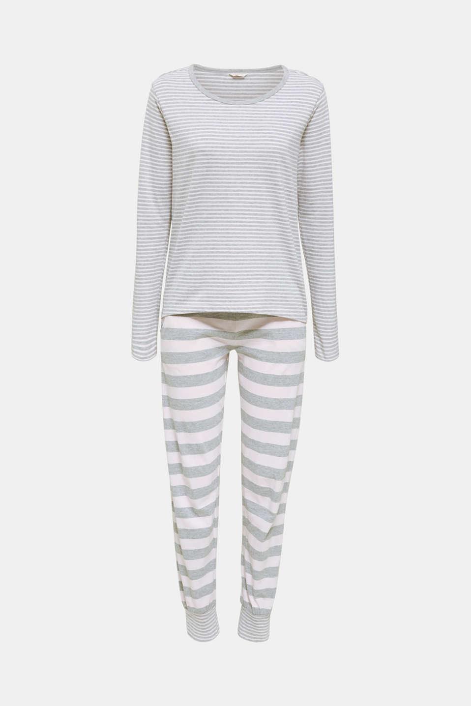 Pyjamas, PASTEL PINK, detail image number 6
