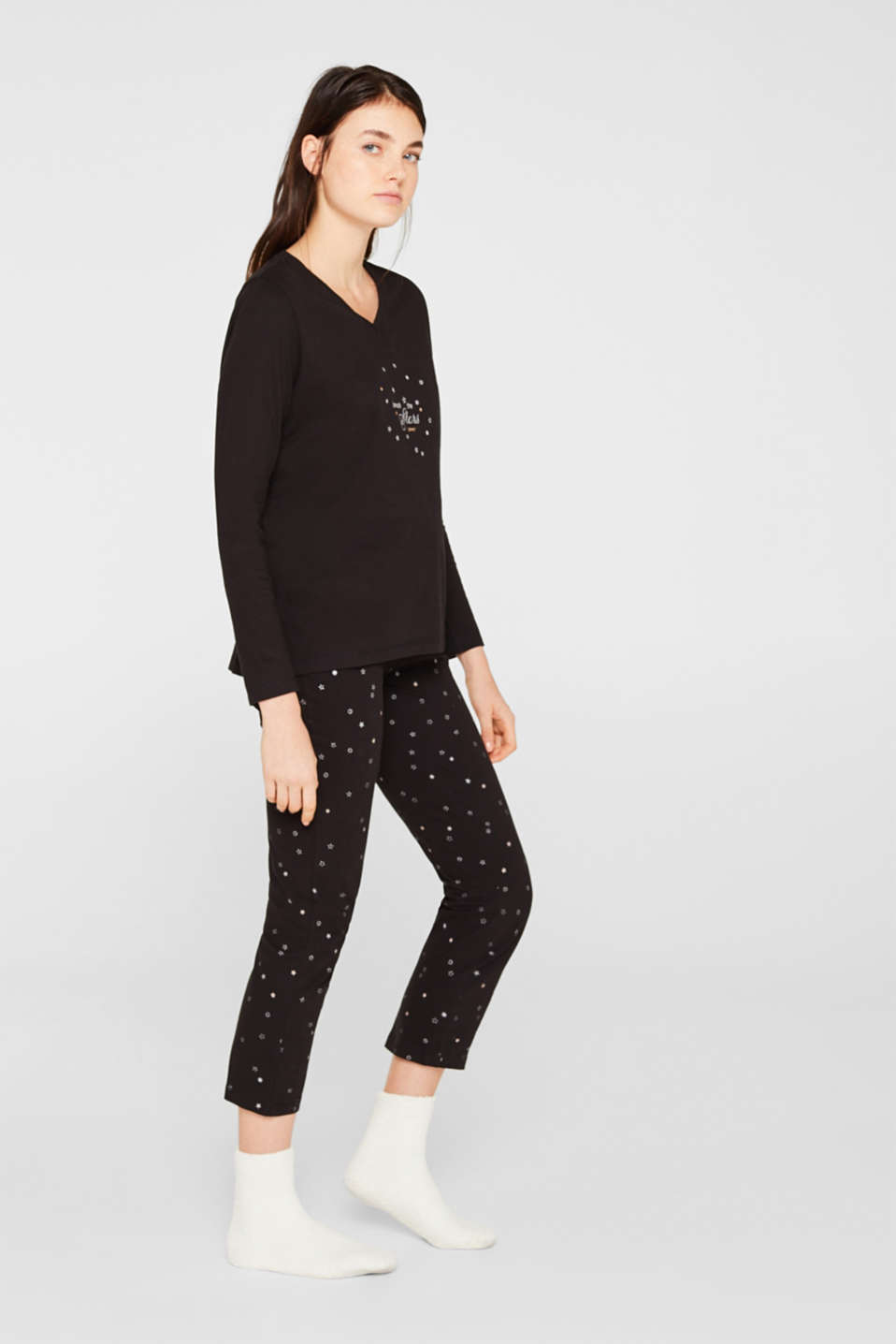 Esprit - SET: jersey pyjamas plus snug socks