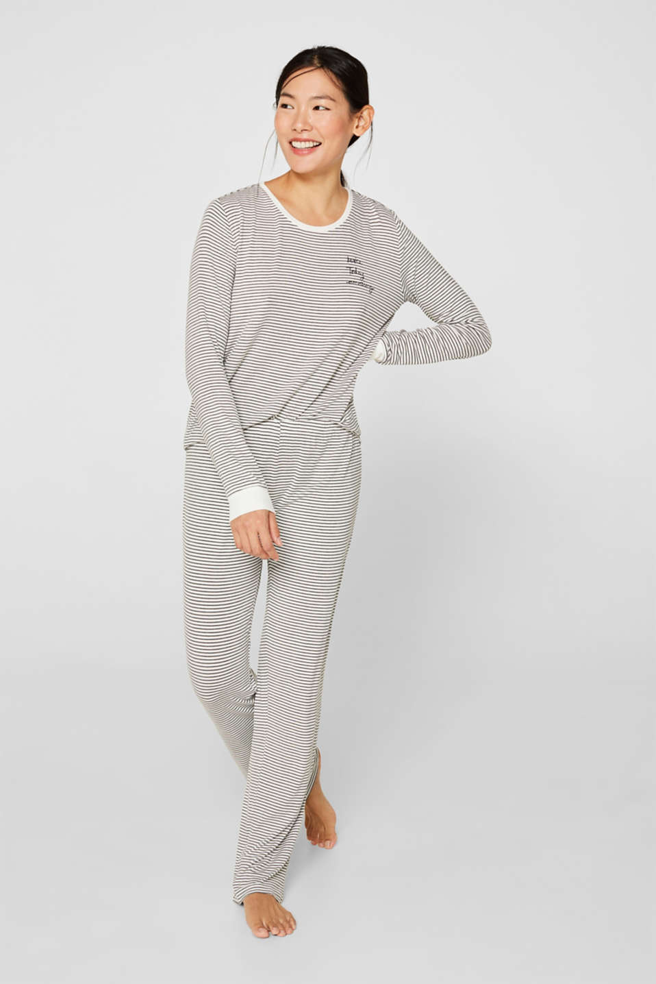 Esprit - Pyjamas i jersey/stretch
