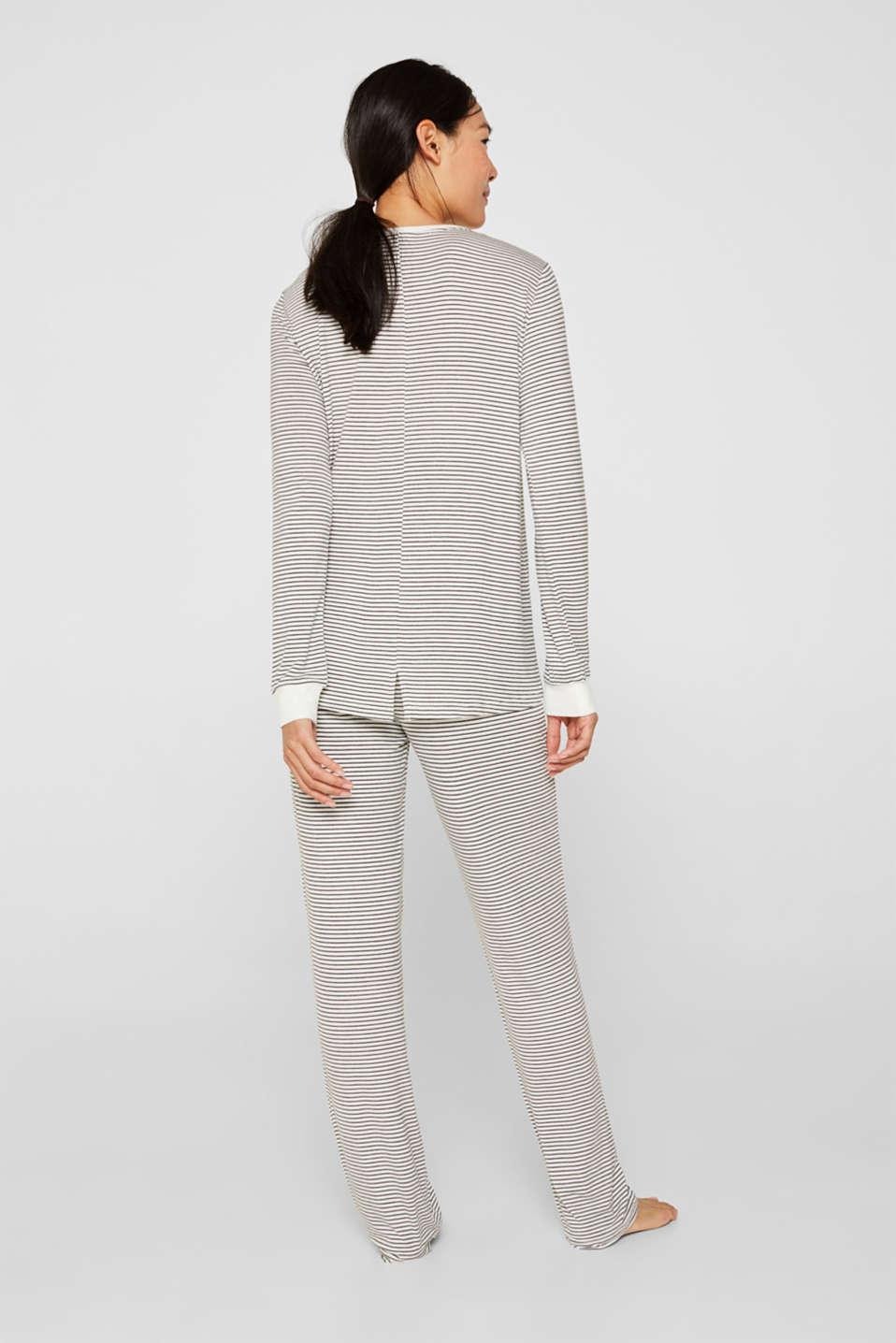 Pyjamas, MEDIUM GREY, detail image number 1