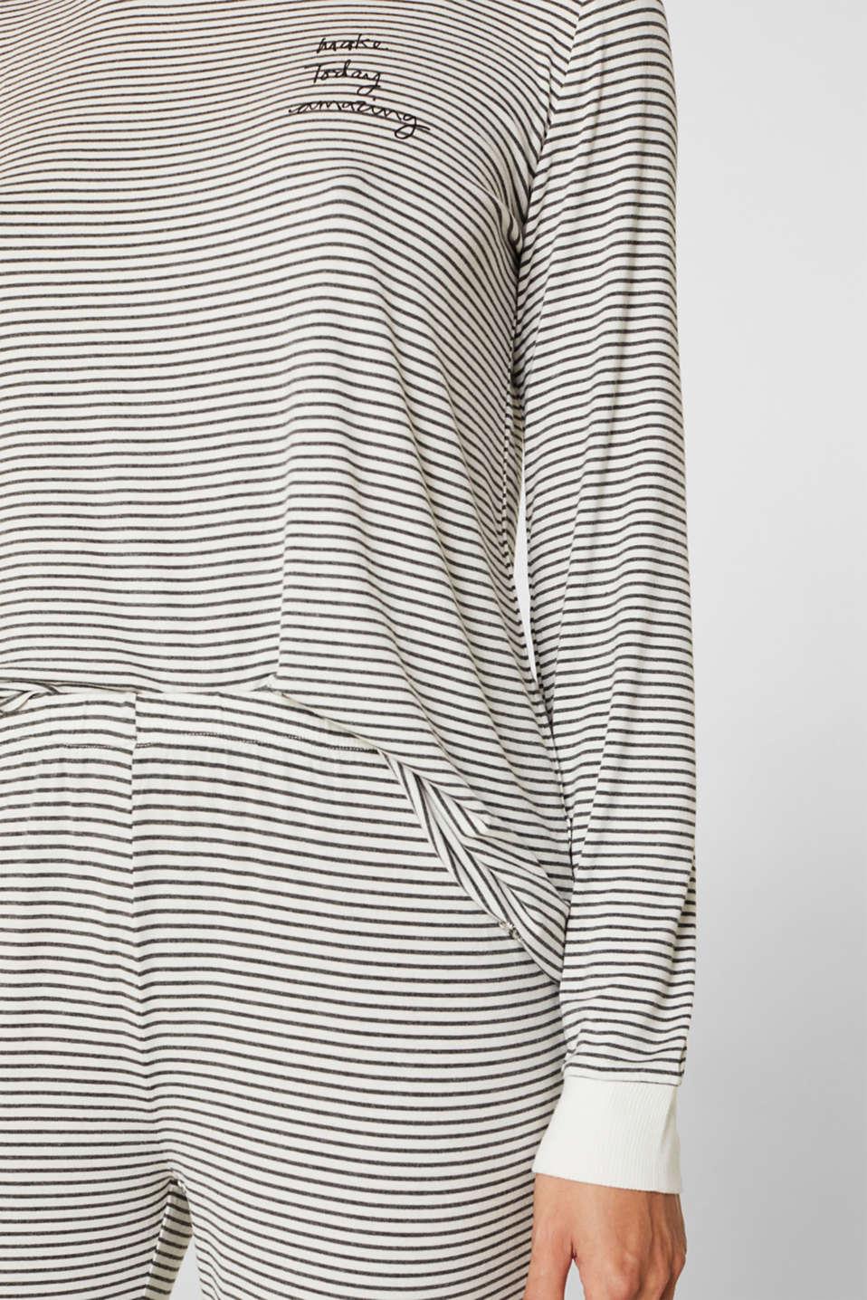 Pyjamas, MEDIUM GREY, detail image number 2