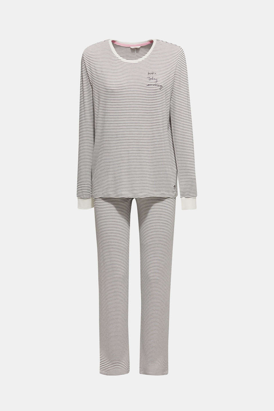 Pyjamas, MEDIUM GREY, detail image number 4