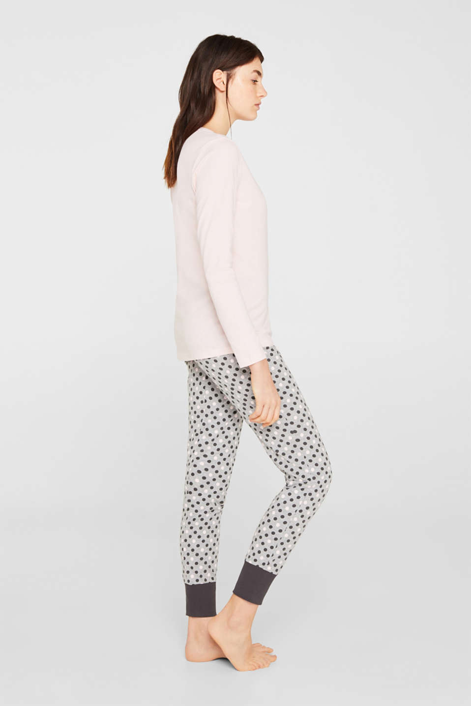 Pyjamas, MEDIUM GREY, detail image number 0