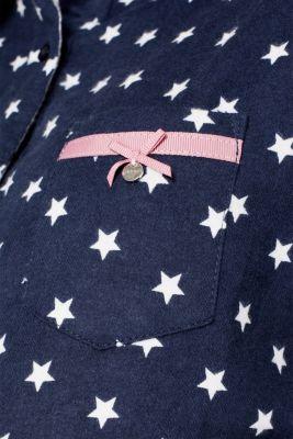 Flannel pyjamas, 100% cotton