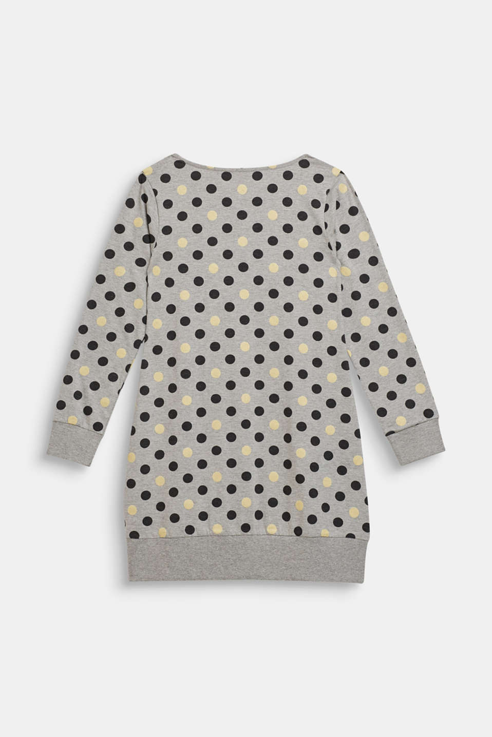 Nightshirt with glitter polka dots, MEDIUM GREY, detail image number 1