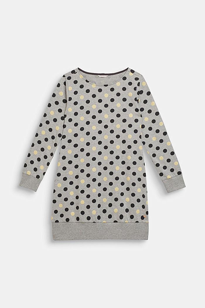 Nachthemd mit Glitter-Punkten, MEDIUM GREY, detail image number 0