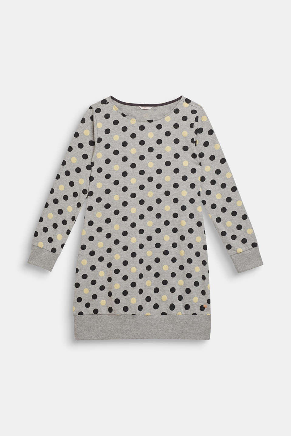 Esprit - Nightshirt with glitter polka dots