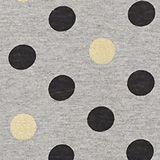 Nightshirt with glitter polka dots, MEDIUM GREY, swatch