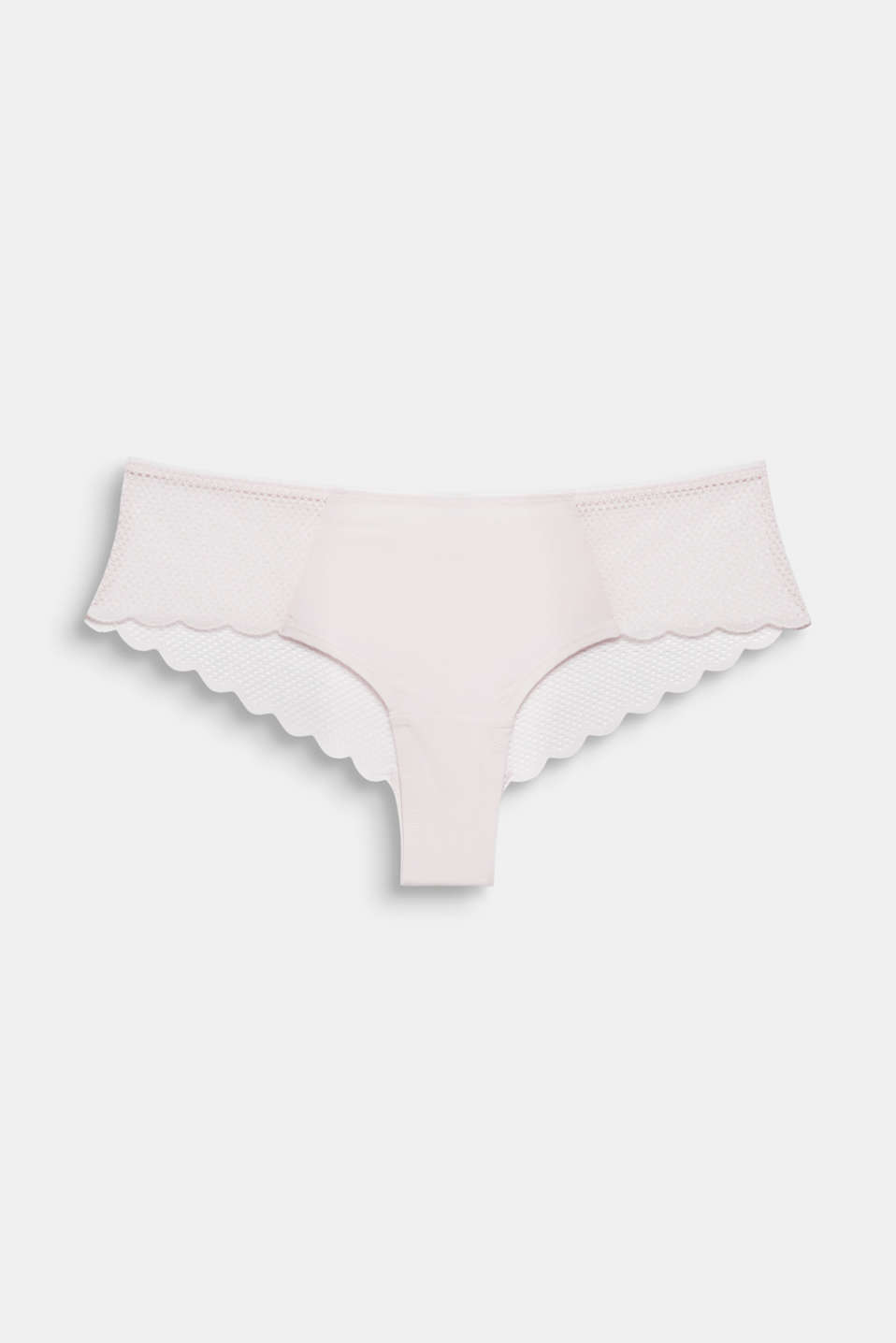 Hipster shorts in a mesh look, PASTEL PINK, detail image number 3