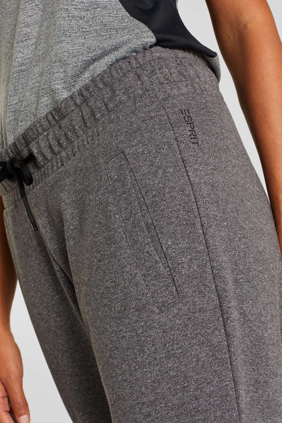 Pants knitted, ANTHRACITE 2, detail image number 2