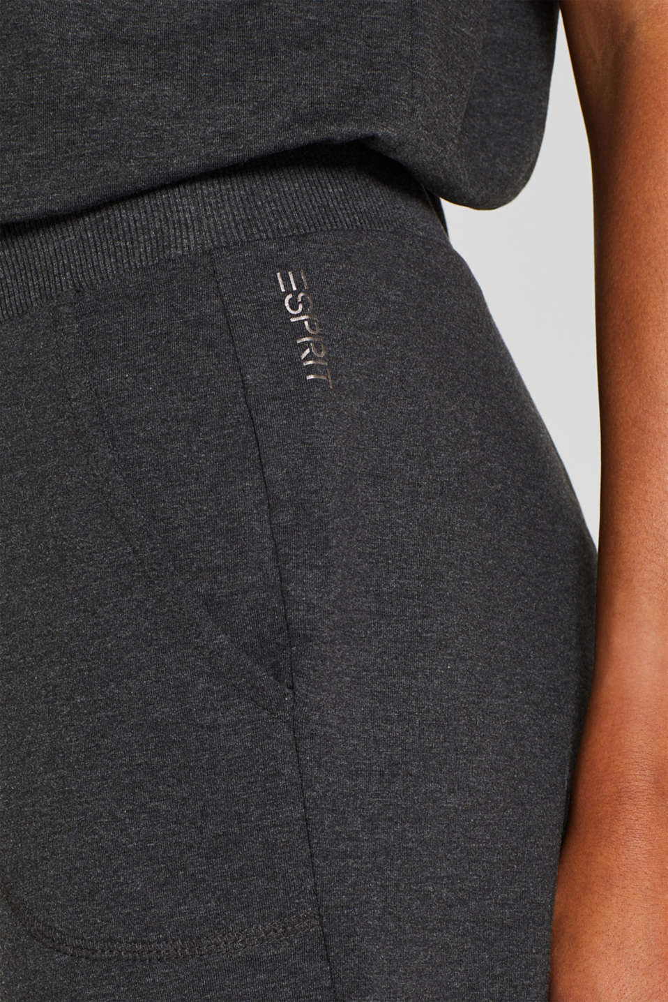 Pants knitted, ANTHRACITE 2, detail image number 1