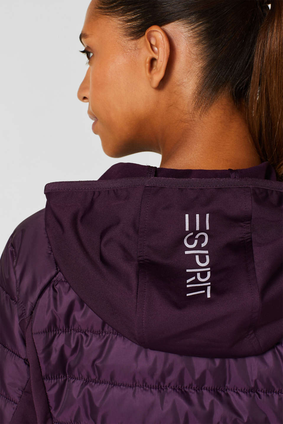Jacket with 3M™ Thinsulate™ technology, AUBERGINE, detail image number 5