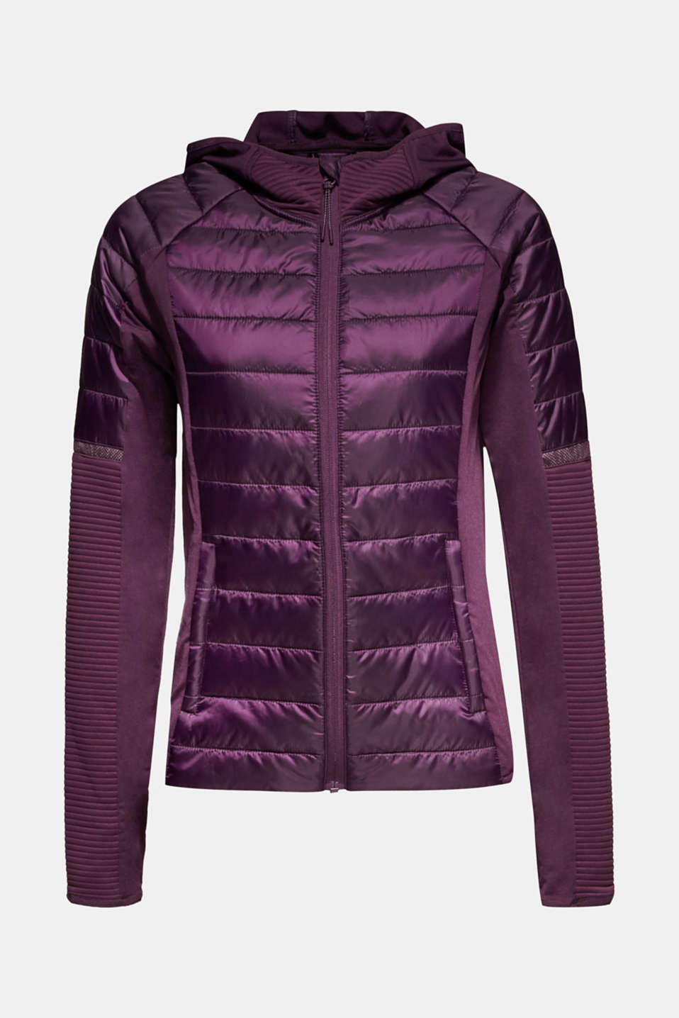 Jacket with 3M™ Thinsulate™ technology, AUBERGINE, detail image number 7