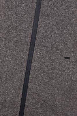 Hooded sweatshirt cardigan, ANTHRACITE 2, detail