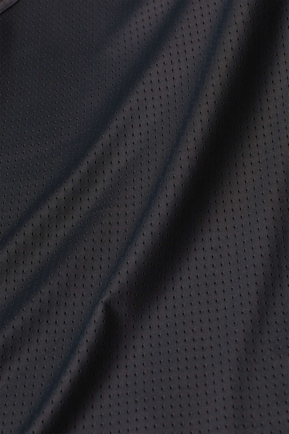 Mesh top with a drawstring, E-DRY, BLACK, detail image number 4