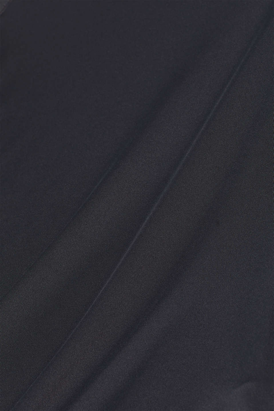 Stretchy long sleeve top with mesh sleeves, E-DRY, BLACK, detail image number 2