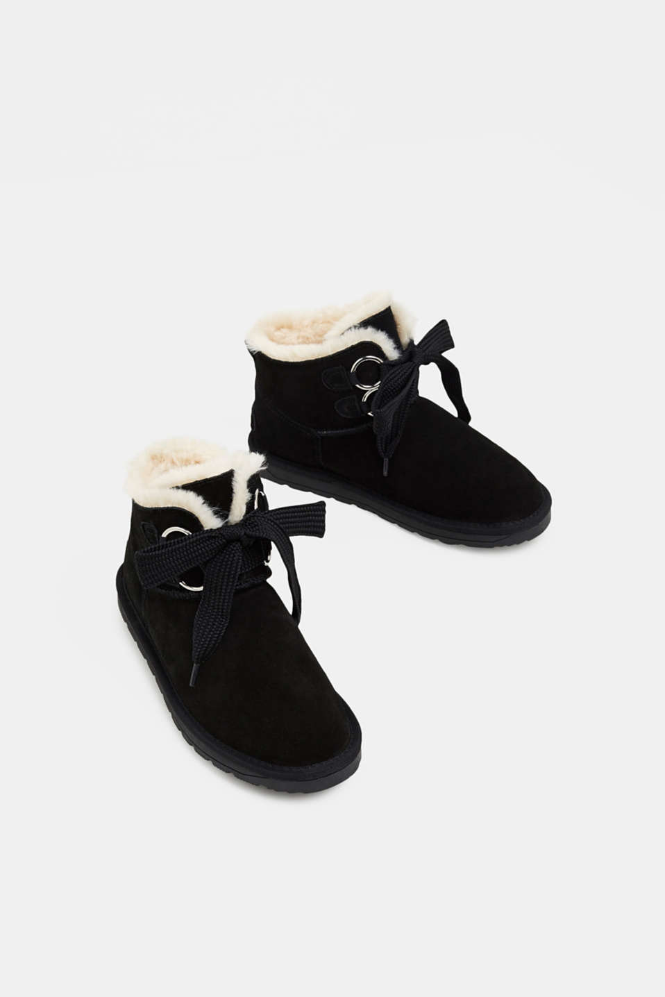Casual Shoes leather, BLACK, detail image number 1