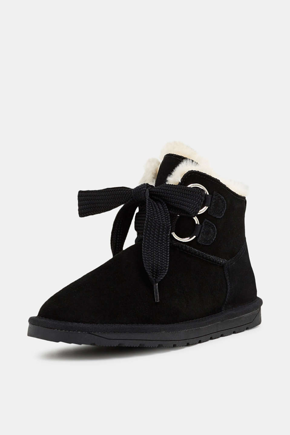 Casual Shoes leather, BLACK, detail image number 2