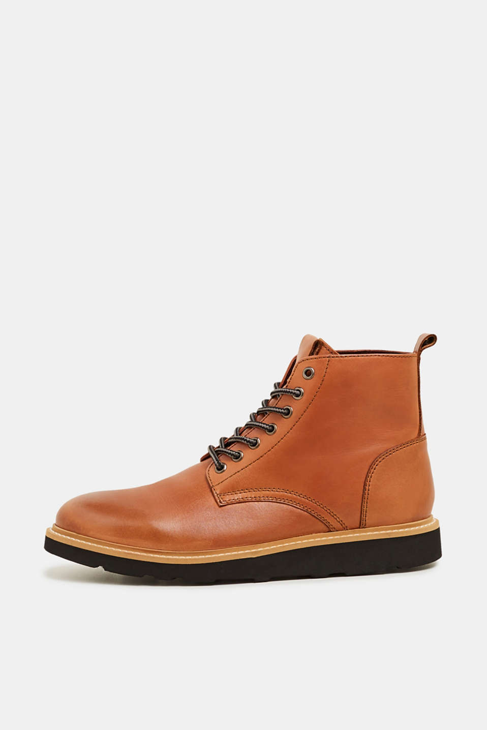 Esprit - Leather desert boots