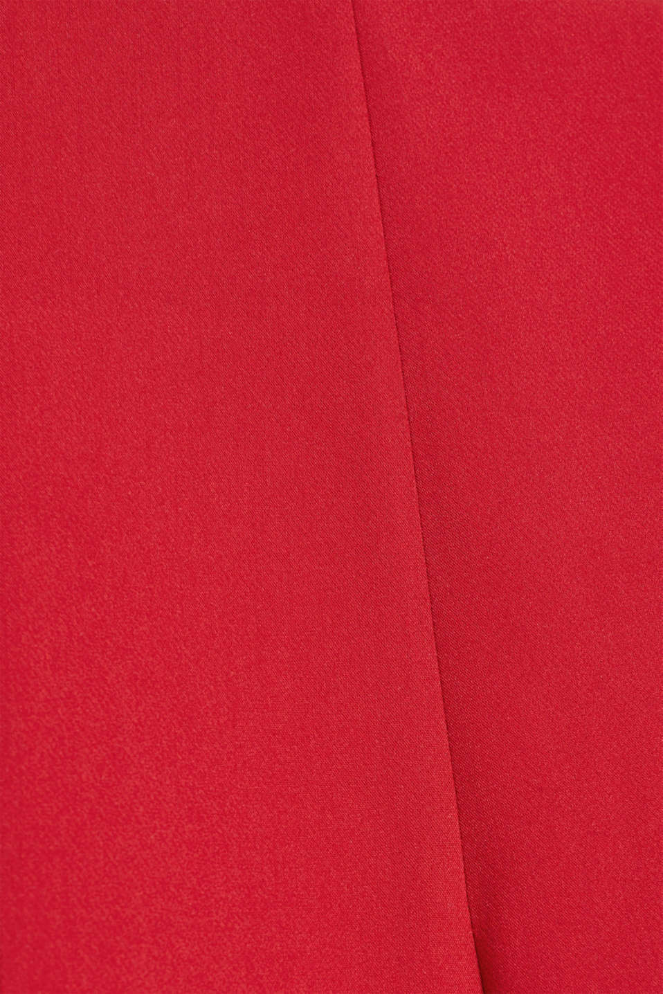 Stretch trousers with tonal stitching, DARK RED, detail image number 3