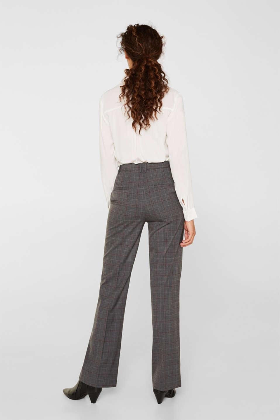 Pants woven, DARK GREY, detail image number 3