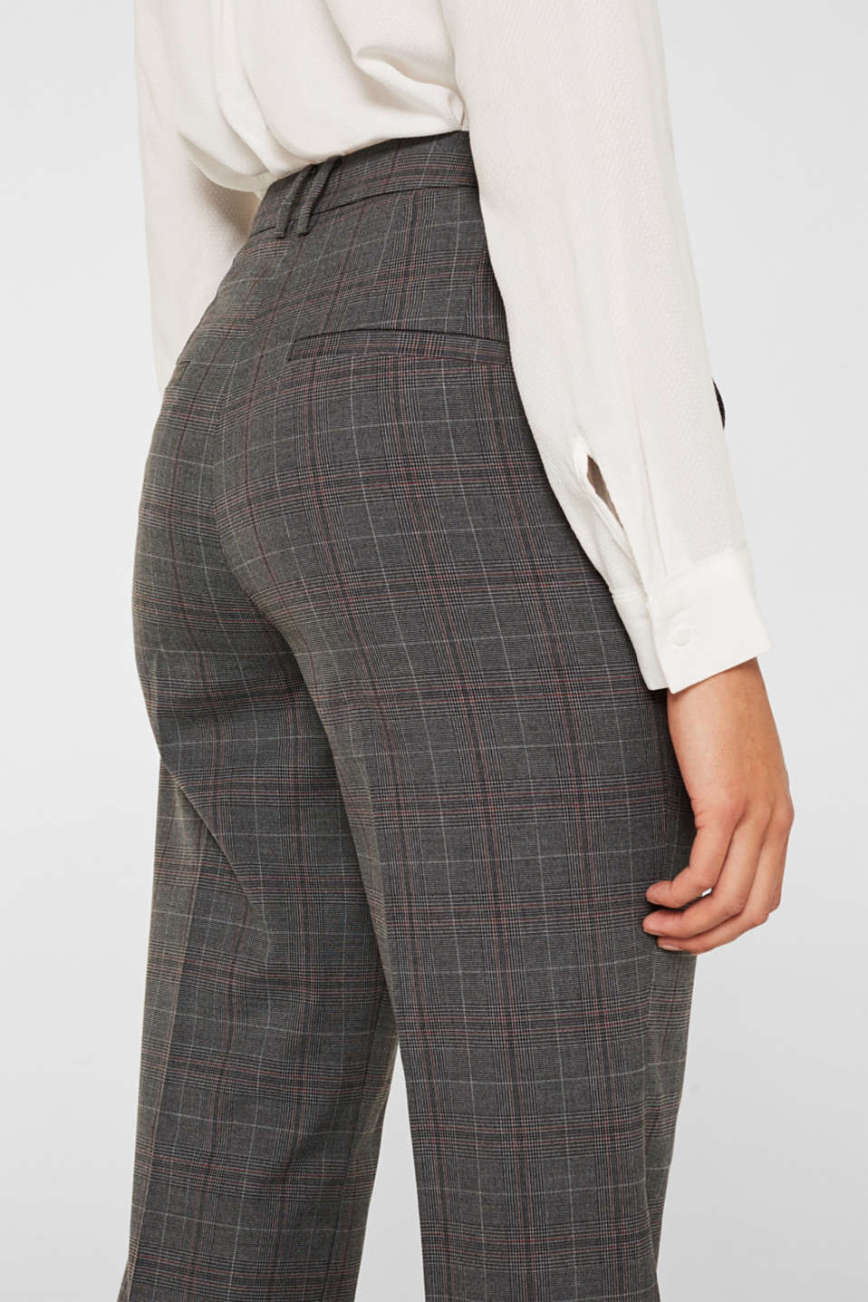 Pants woven, DARK GREY, detail image number 5