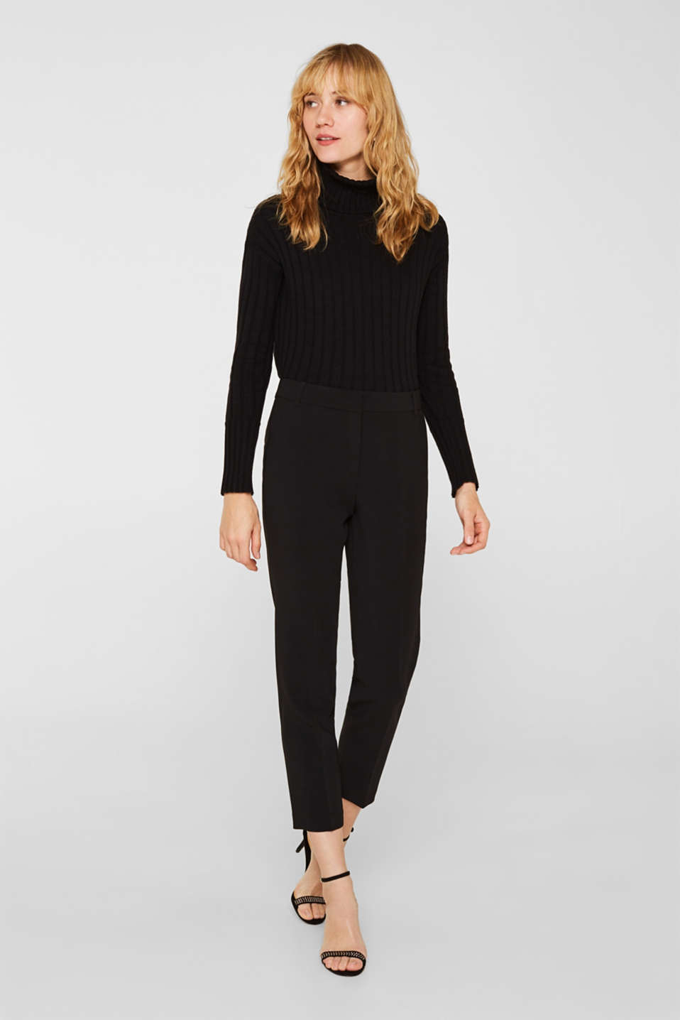 Esprit - TECHNO TWILL Mix + Match Pantaloni stretch