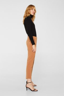 TECHNO TWILL mix + match stretch trousers, TOFFEE, detail