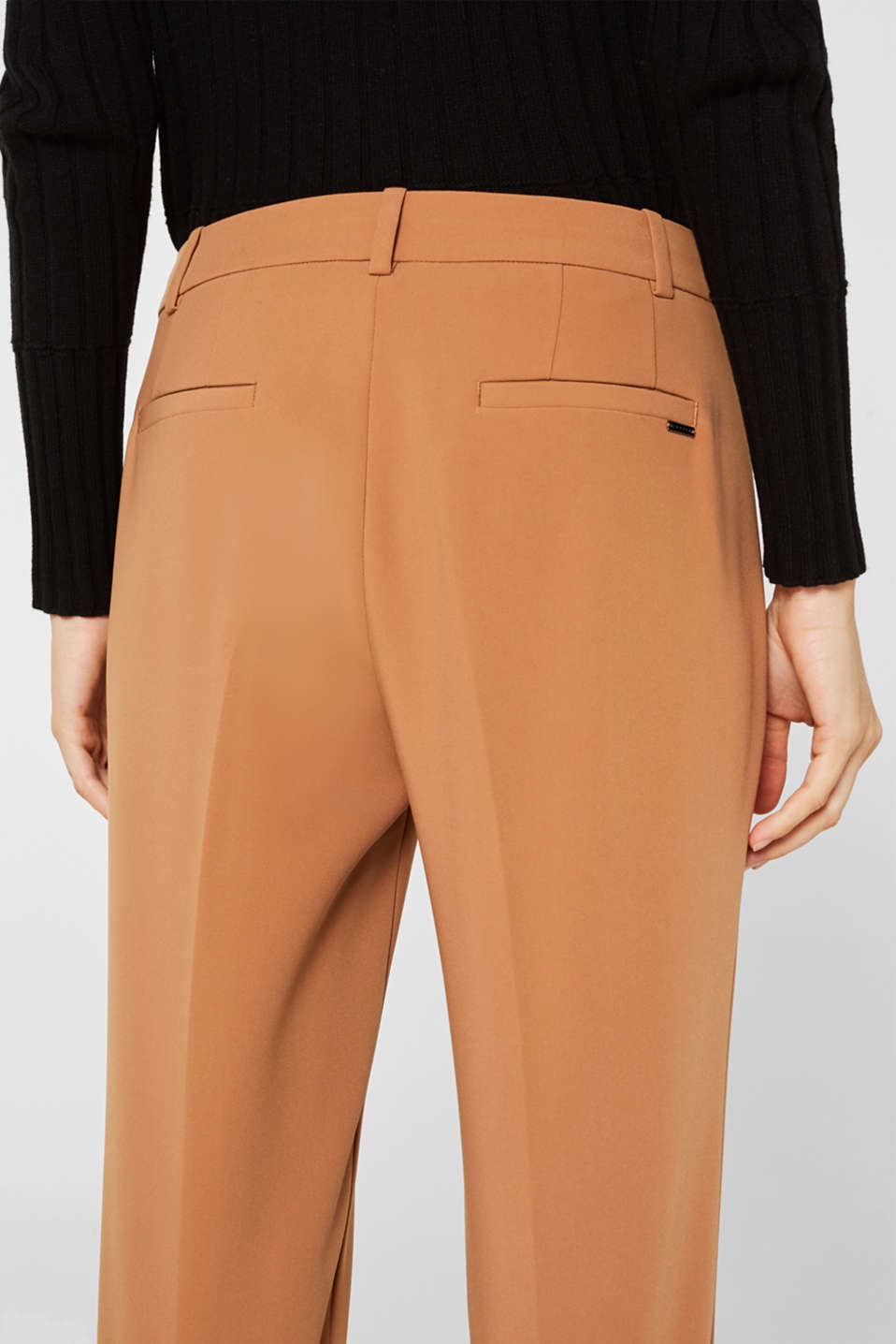 TECHNO TWILL mix + match stretch trousers, TOFFEE, detail image number 5