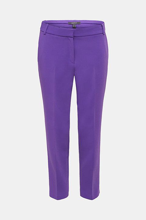 TECHNO TWILL mix + match stretch trousers