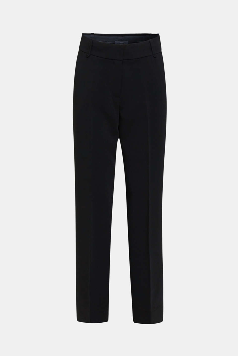 TECHNO TWILL mix + match wide stretch trousers, BLACK, detail image number 7