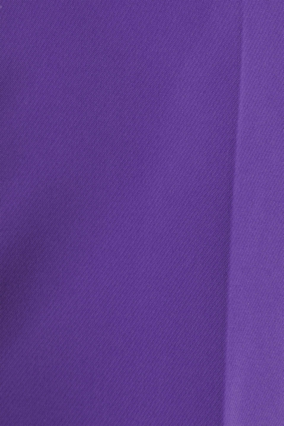 TECHNO TWILL mix + match wide stretch trousers, PURPLE, detail image number 4