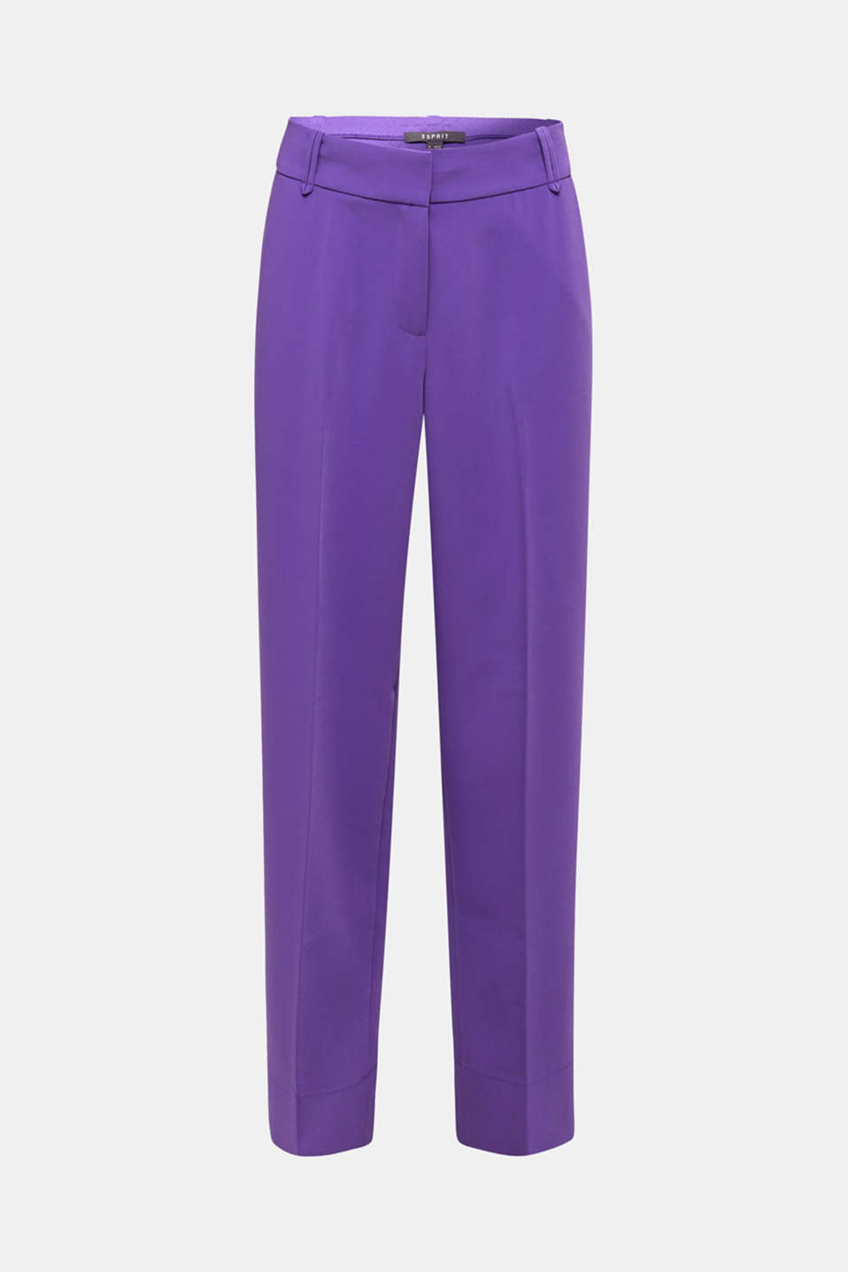 TECHNO TWILL mix + match wide stretch trousers, PURPLE, detail image number 6