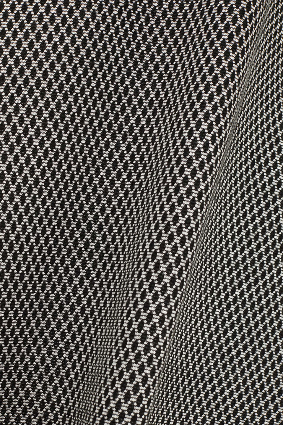A-line skirt made of patterned jersey, GREY, detail image number 4