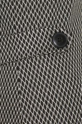 Patterned jersey shift dress, GREY, detail