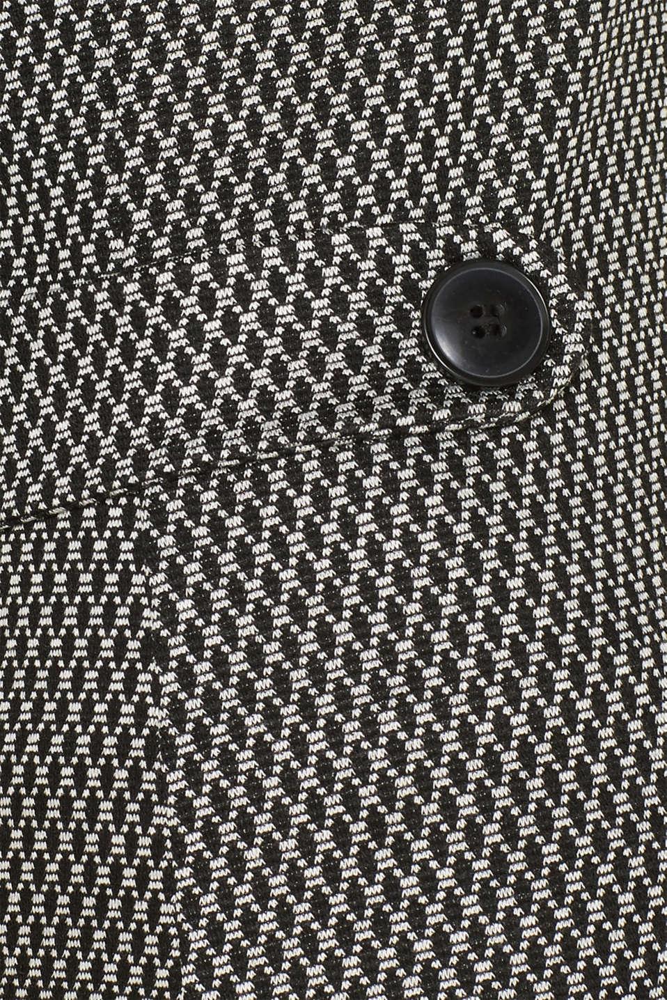 Patterned jersey shift dress, GREY, detail image number 4