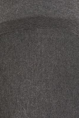Glitter knit dress with LENZING™ ECOVERO, GUNMETAL 5, detail