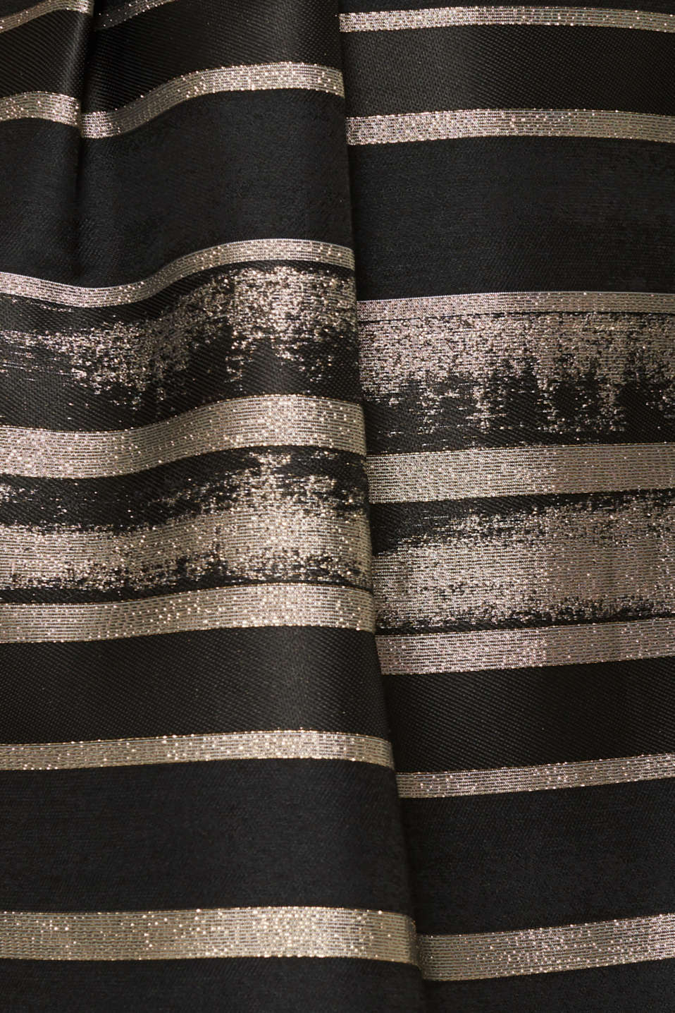 Dress made of jersey and jacquard fabric, BLACK, detail image number 4