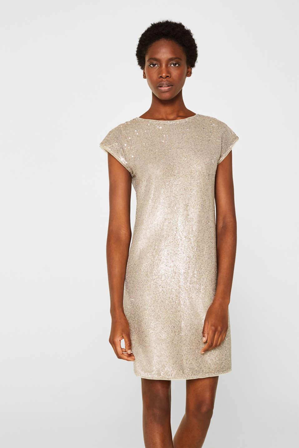 Esprit Kleid mit Pailletten im Online Shop kaufen