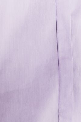 Stretch shirt blouse with a fine sheen, LILAC, detail