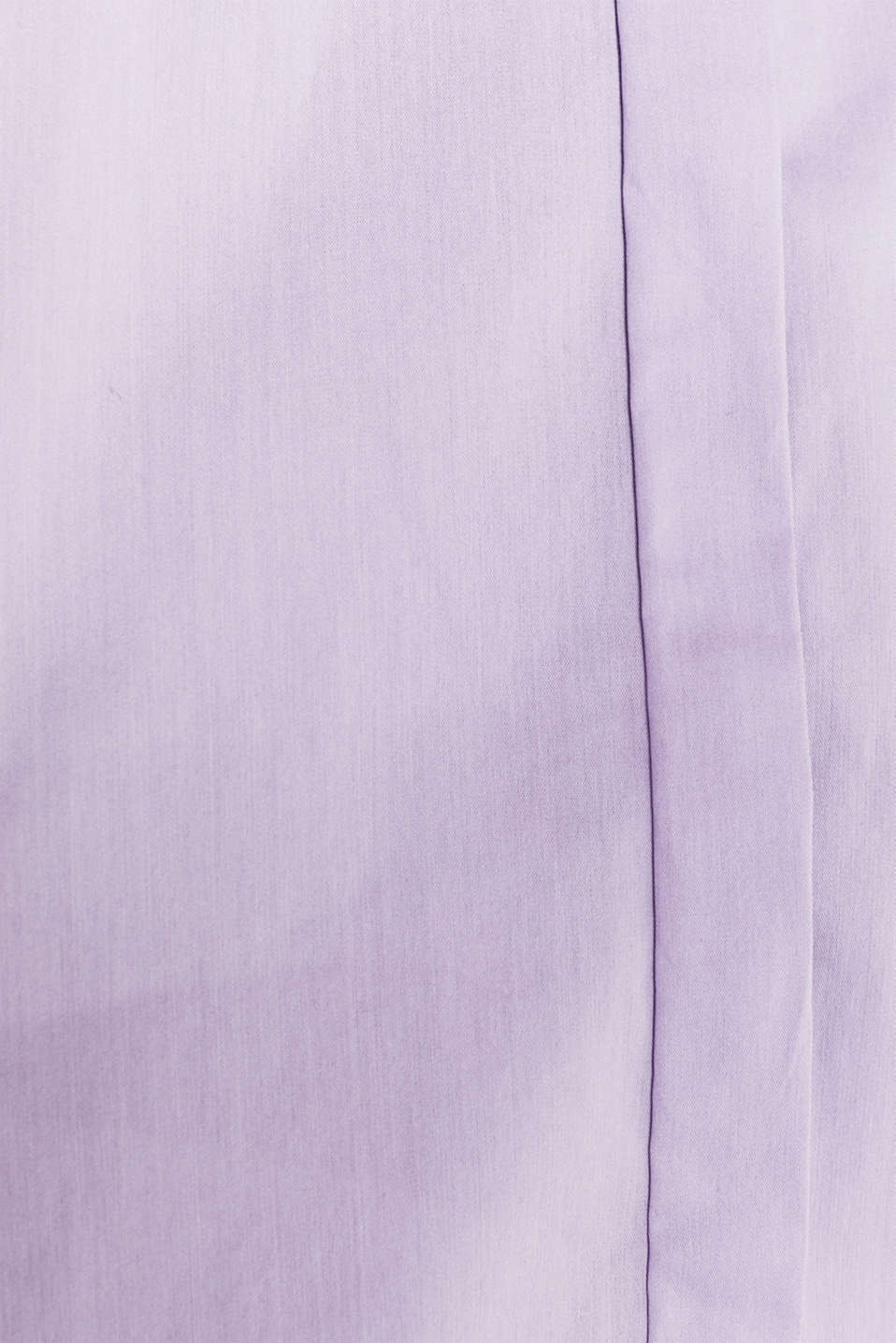 Stretch shirt blouse with a fine sheen, LILAC, detail image number 4
