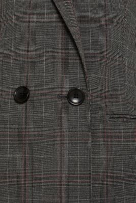 CHECK Mix + Match: double-breasted blazer