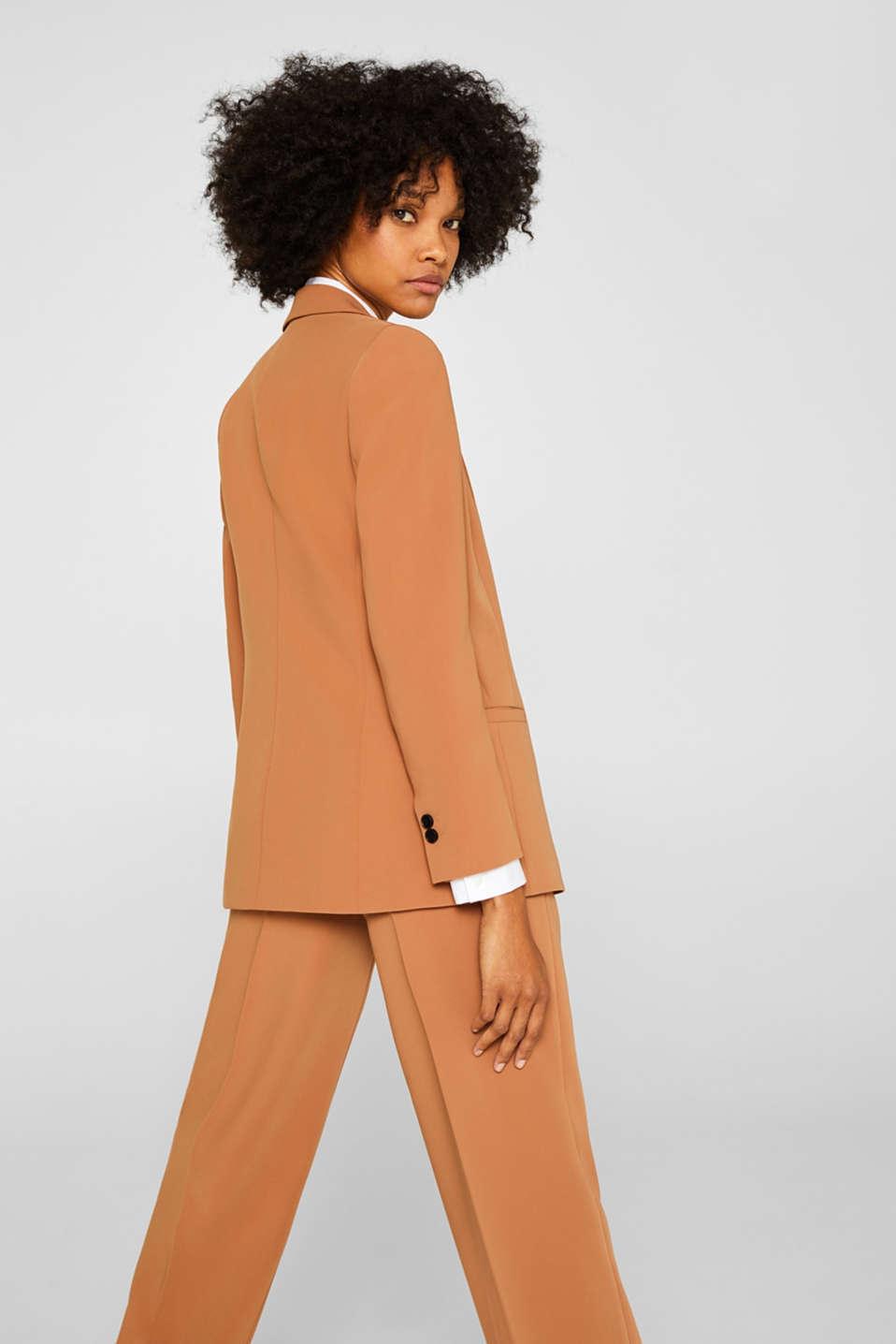 TECHNO TWILL mix + match stretch blazer, TOFFEE, detail image number 3