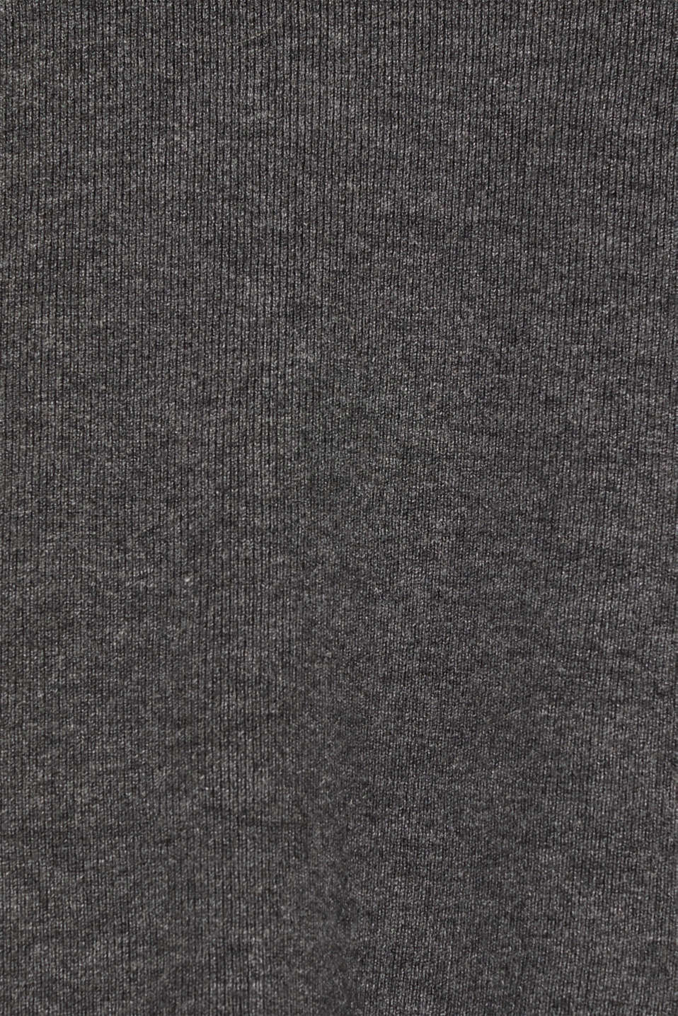 Fine knit bolero with LENZING™ ECOVERO, GUNMETAL 5, detail image number 4