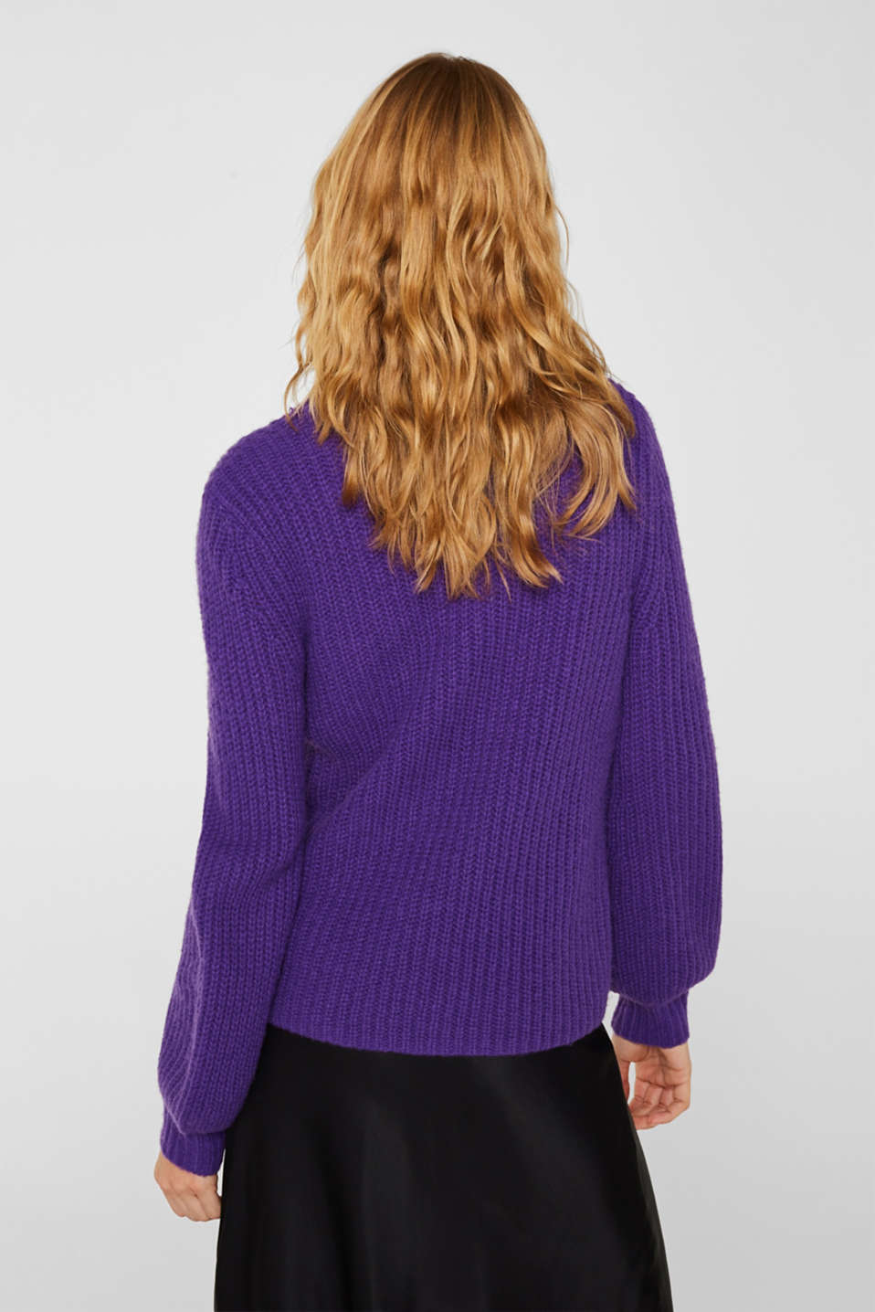 Sweaters, PURPLE, detail image number 3