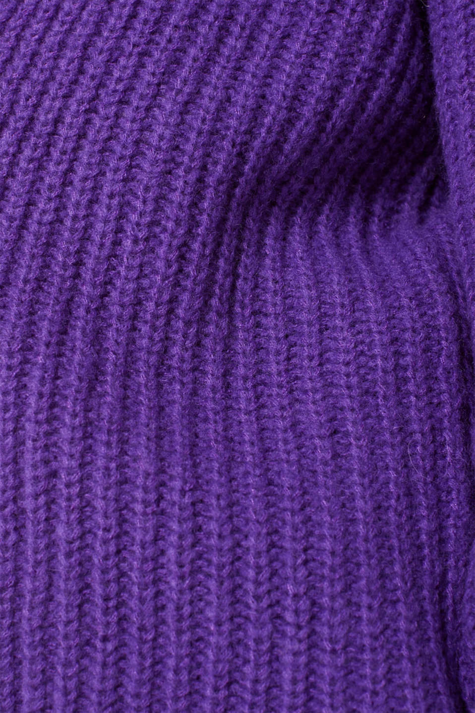 Sweaters cardigan, PURPLE, detail image number 4