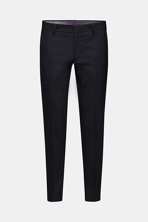 PARTY mix + match: Textured suit trousers